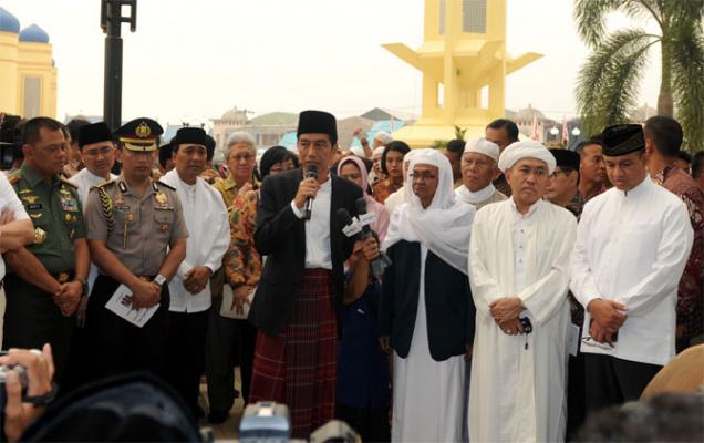 Jokowi ke Kalimantan Untuk Mengurus Asap