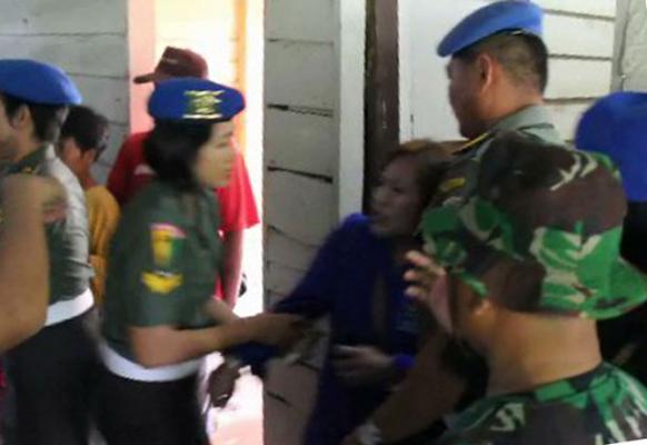 Pengosongan Asrama Kodam Bukit Barisan Berlangsung Ricuh