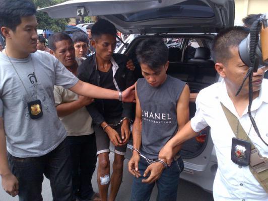 Timsus Anti Begal Satreskrim Polresta Medan Tembak Jambret