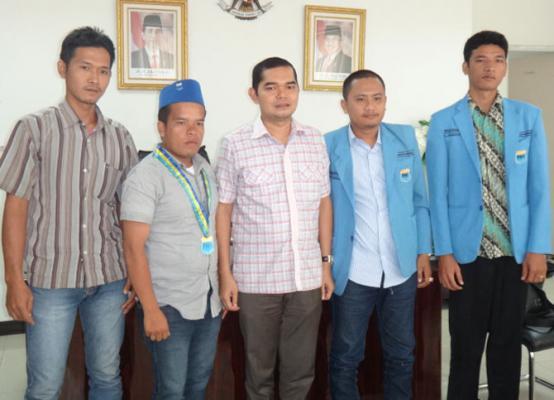 Wakil Ketua DPRD Medan Terima PMII