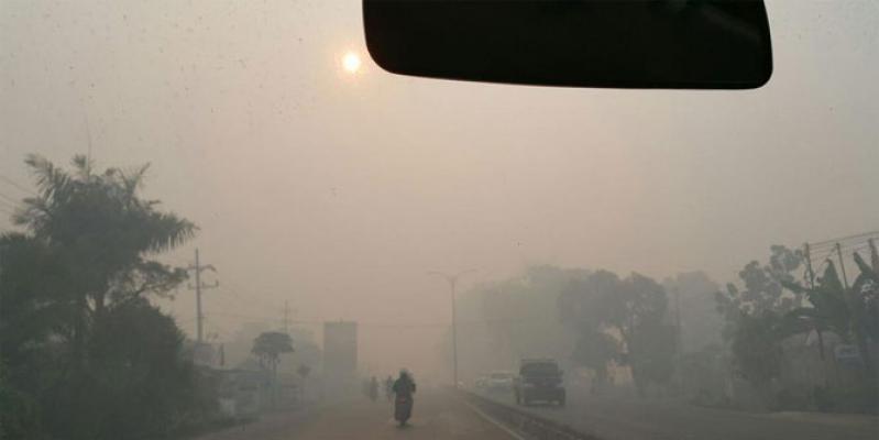 Kabut Asap, Warga Pekanbaru Mandah ke Medan