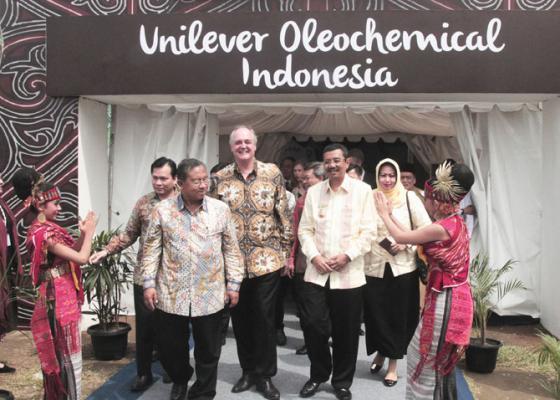 Pabrik Unilever di KEK Sei Mangkei Diresmikan
