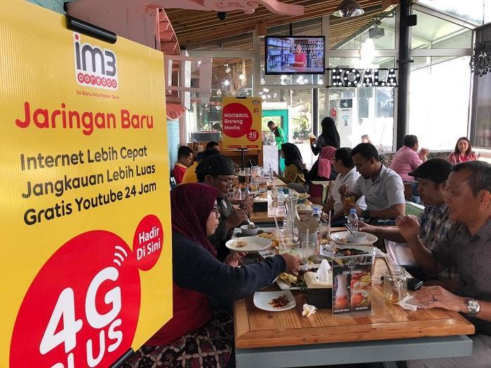 Pelanggan Indosat Ooredoo Nikmati Jaringan Baru 4G Plus