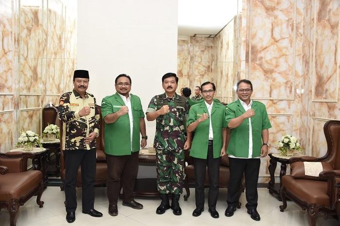 Panglima TNI Terima Kunjungan Gerakan Pemuda Ansor