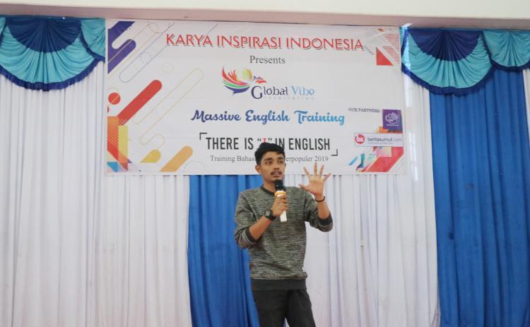 Global Vibe Inspiration Sukses Motivasi Seribuan Pelajar Labuhan Batu Kuasai Bahasa Inggris