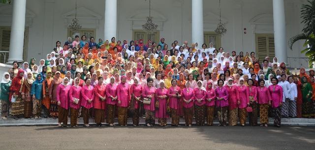 Peringatan Puncak Hari Kartini di Istana Bogor