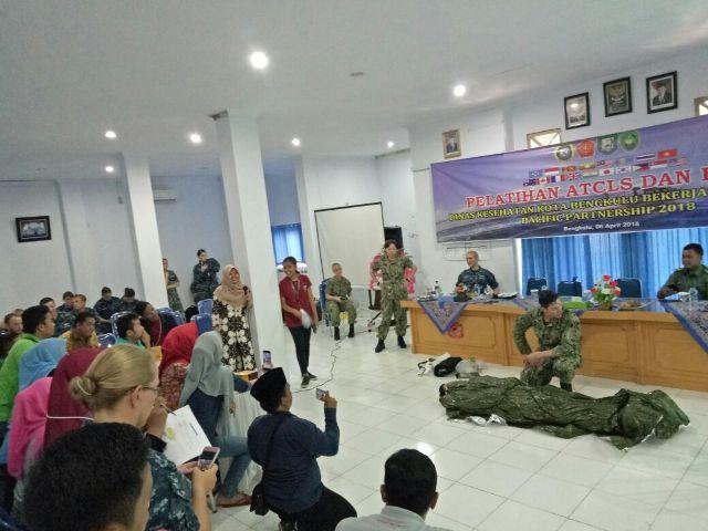 Pasific Partnership Latih ATCLS dan BTCLS di Bengkulu