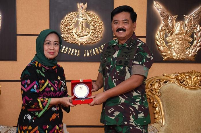 Panglima TNI Terima Kunjungan Ombudsman RI