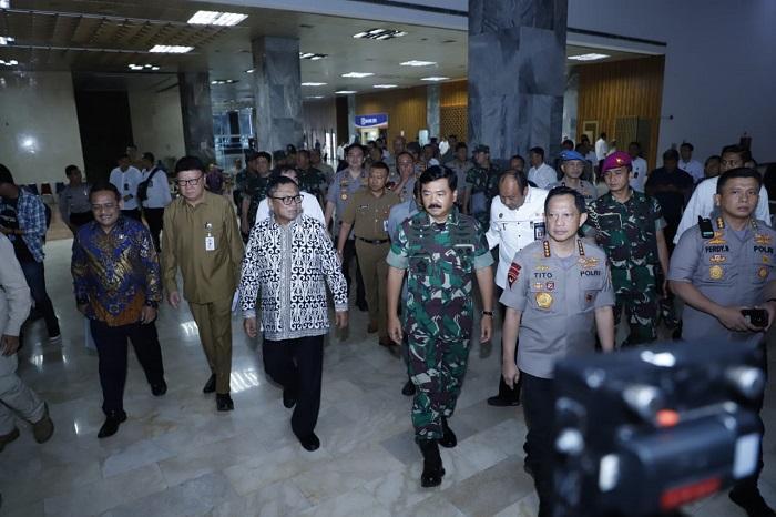 Panglima TNI Ikuti Raker Komite I DPD RI