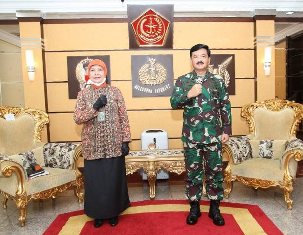 Panglima TNI Terima Kunjungan Dirjen Badilmiltun Mahkamah Agung RI