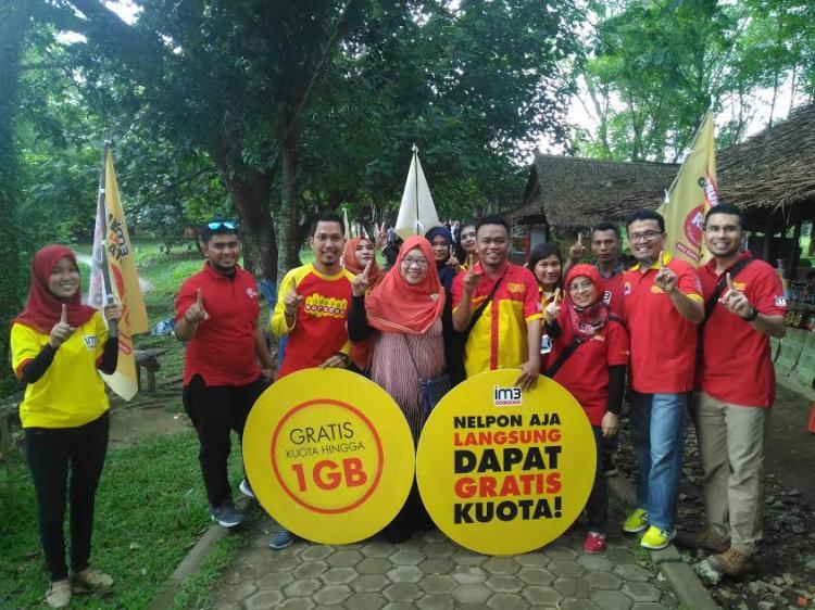 Indosat Ooredoo Gelar Acara Bigbang di Kebun Binatang Medan