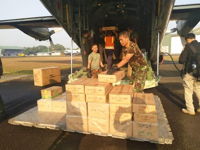 Gagal Panen di Pulau Seram Maluku, TNI Kirim Bantuan Kemanusiaan