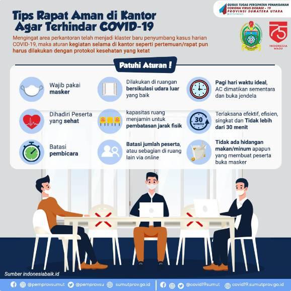 Tips Rapat Aman di Kantor Agar Terhindar dari Covid-19