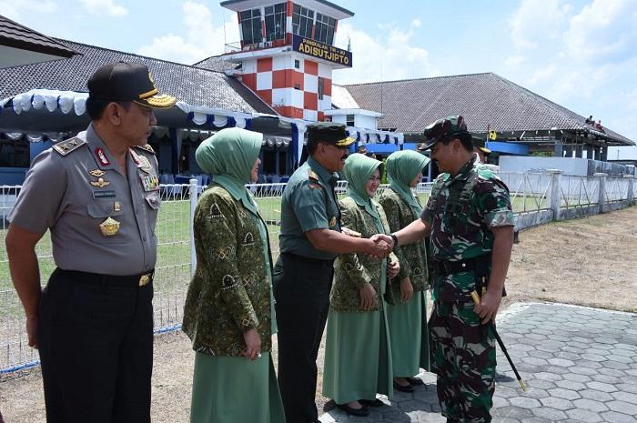 Panglima TNI Kunjungan Kerja ke Magelang