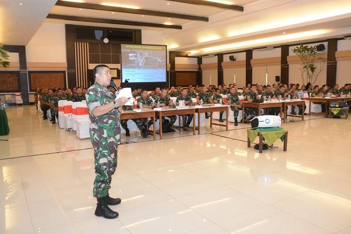 Briefing Latihan Terpadu Satgas Kogasgabpam VVIP IMF WB 2018 di Bali