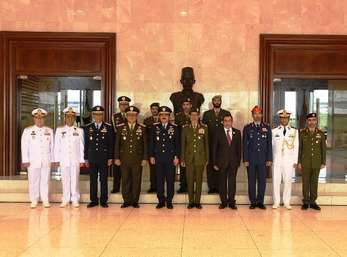 Panglima TNI Terima Kunjungan Kehormatan Panglima Angkatan Bersenjata Uni Emirat Arab