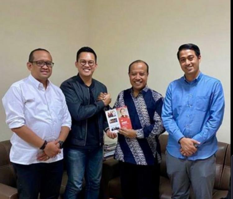 Jamhadi Silaturahmi dengan Ketua Kadin Surabaya